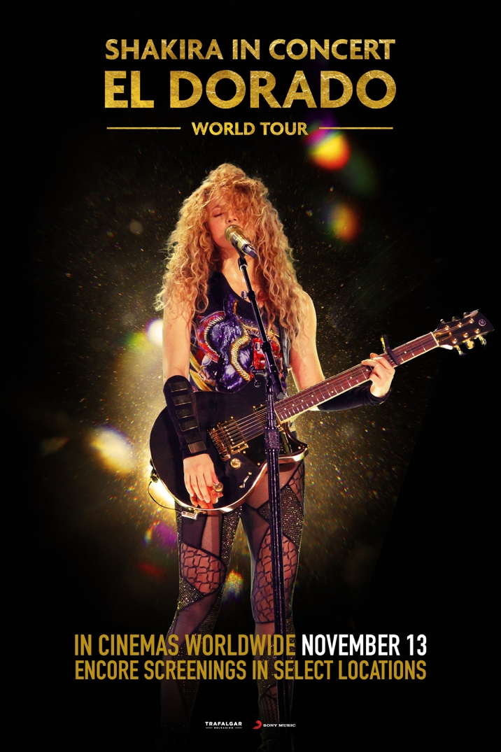 Poster image for Shakira In Concert: El Dorado World Tour