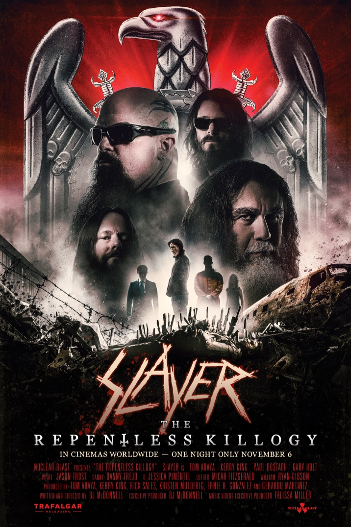 Poster image for Slayer: The Repentless Killogy