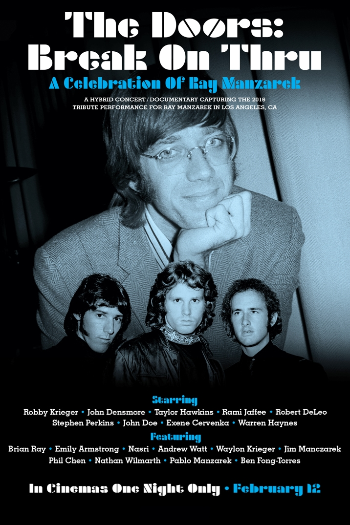 Poster image for THE DOORS: BREAK ON THRU – A CELEBRATION OF RAY MANZAREK