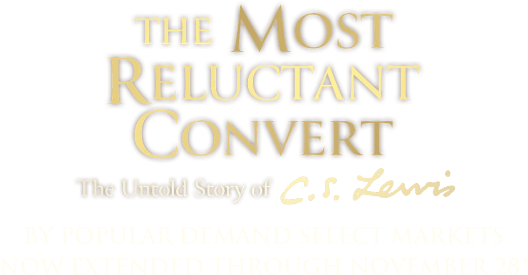 Title or logo for The Most Reluctant Convert: The Untold Story of C.S. Lewis