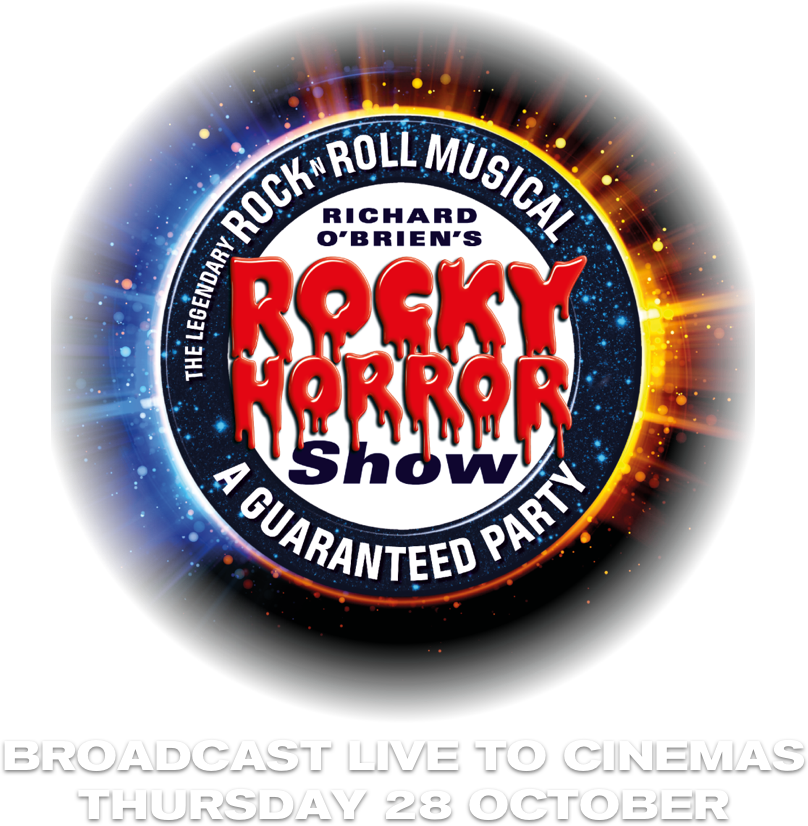 Title or logo for The Rocky Horror Show Live