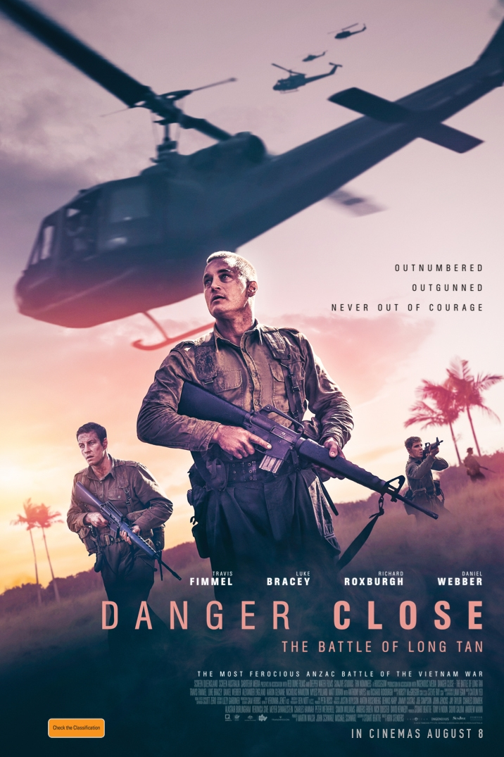 Poster for Danger Close: The Battle of Long Tan