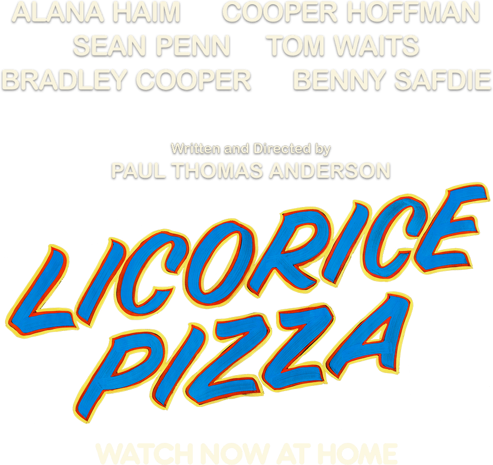 Title or logo for Licorice Pizza