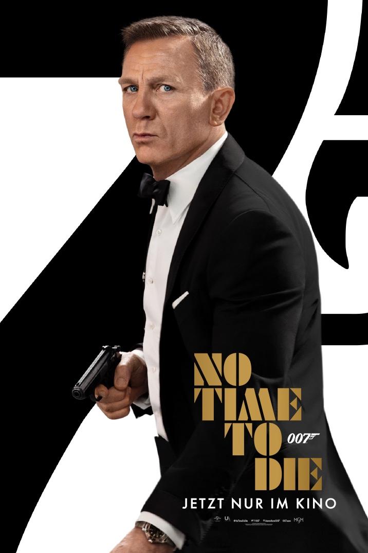 007 No Time To Die Filmplakat
