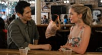 Jessica Rothe and Harry Shum Jr in All My Life (2020)