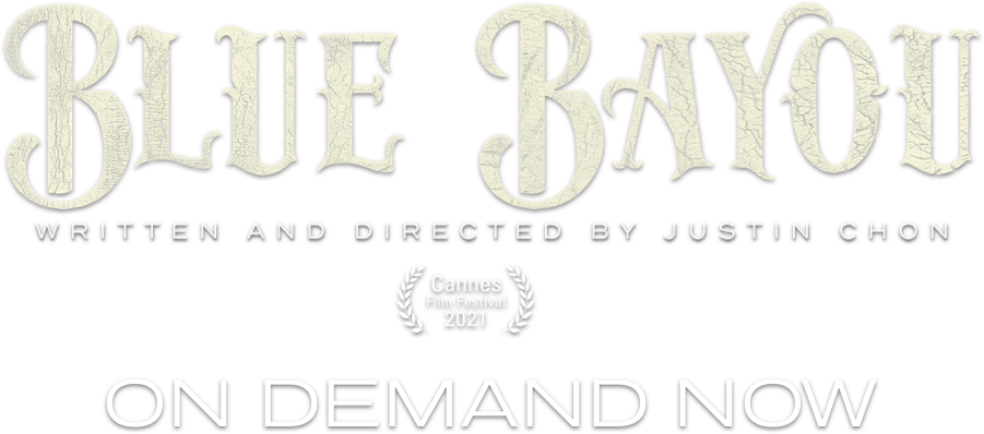 Title or logo for Blue Bayou