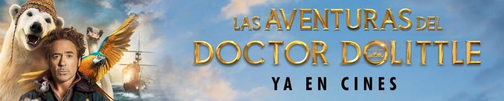 Banner de LAS AVENTURAS DEL DOCTOR DOLITTLE