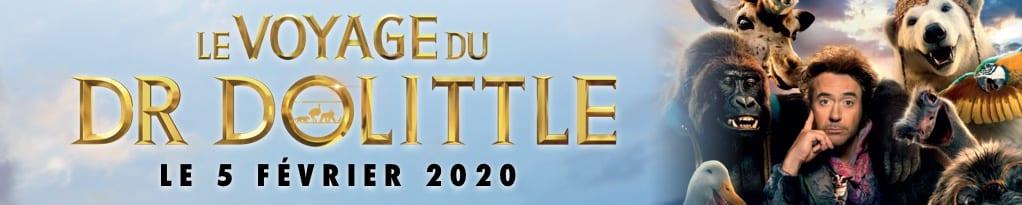 Bannière du film Le Voyage Du Dr Dolittle
