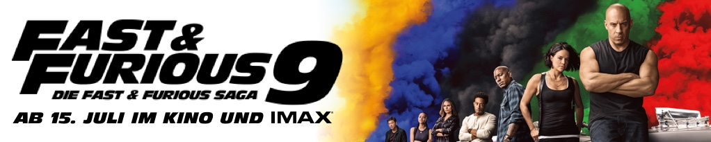 Fast & Furious 9 Banner