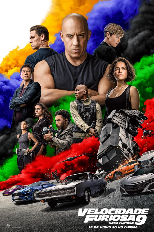 Poster de Fast & Furious 9