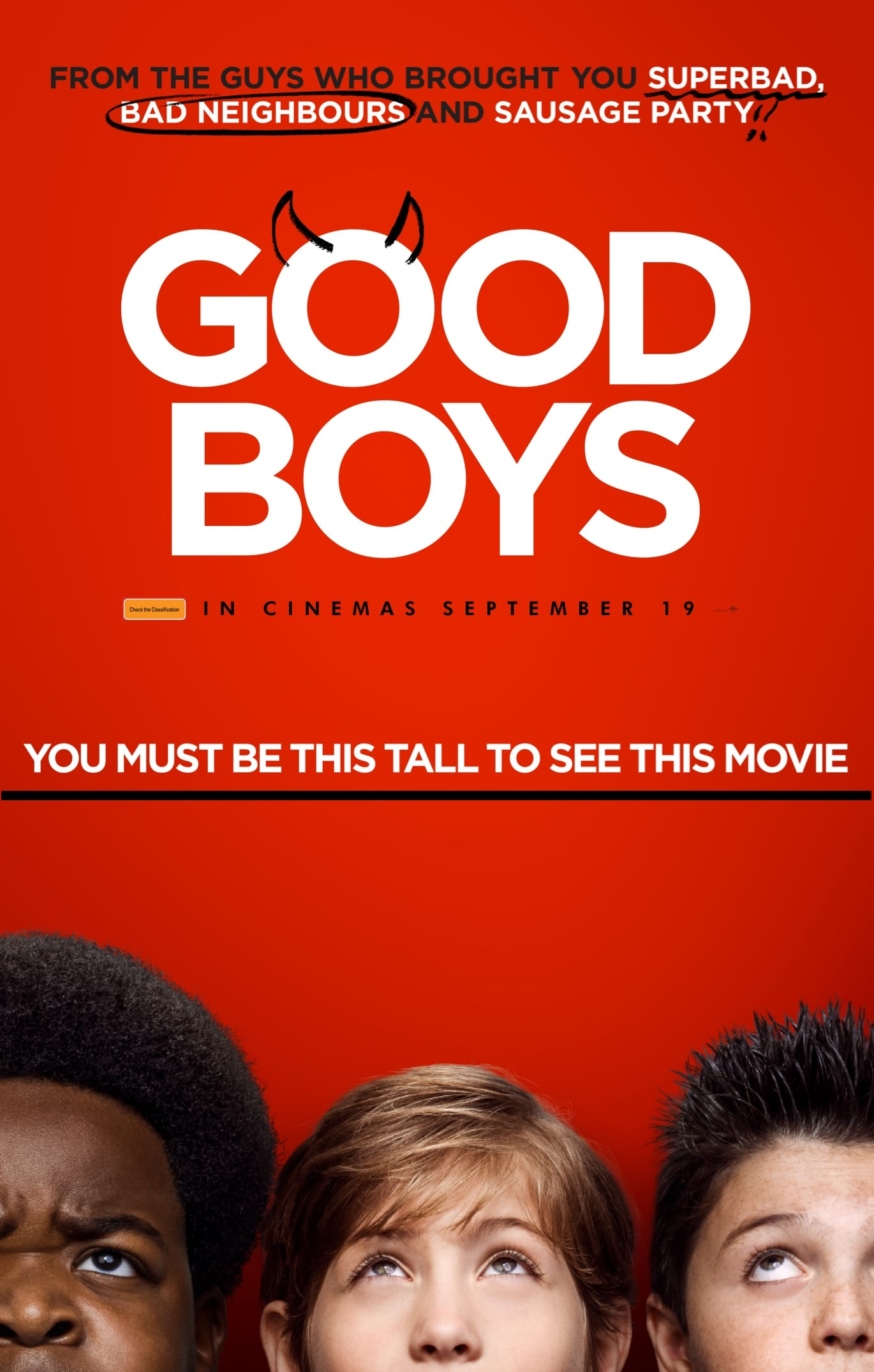 Poster image for Good Boys