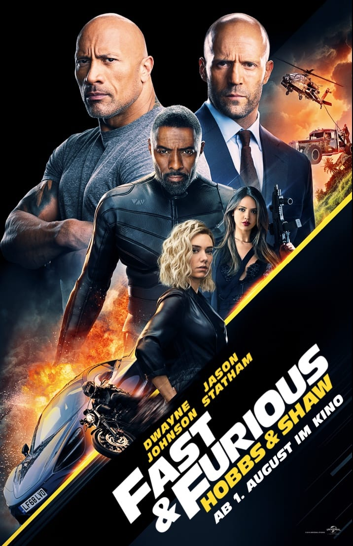 Poster for Hobbs & Shaw