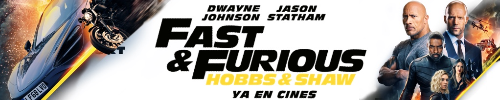 Poster for FAST & FURIOUS: HOBBS & SHAW