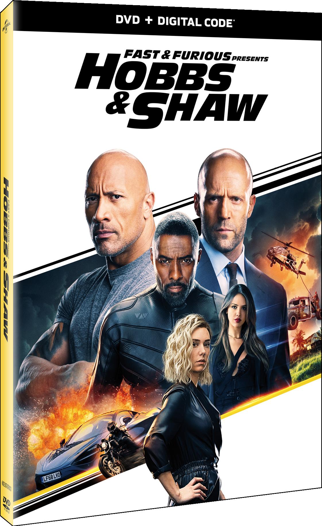 Buy Hobbs & Shaw on DVD.