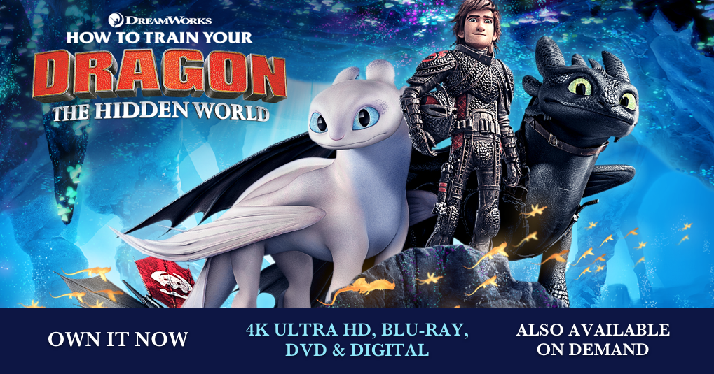 How To Train Your Dragon: The Hidden World | Trailer | Own
