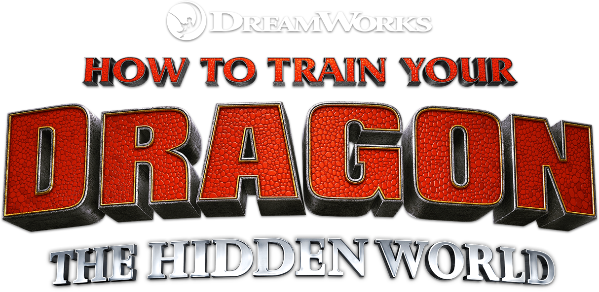 Title-treatment for How To Train Your Dragon: The Hidden World