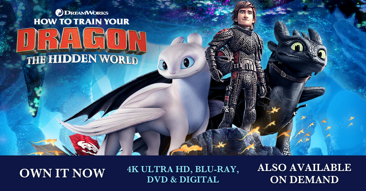 How To Train Your Dragon: The Hidden World | Movie Site | Own it Now