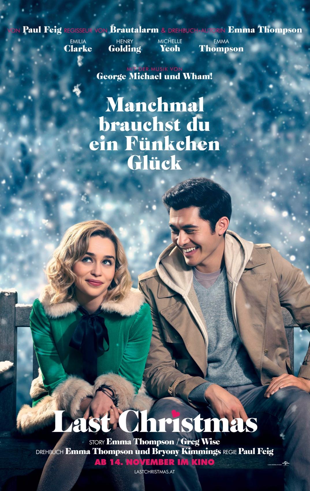 Last Christmas Filmplakat