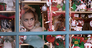 Emilia Clarke in Last Christmas (2019 Movie)