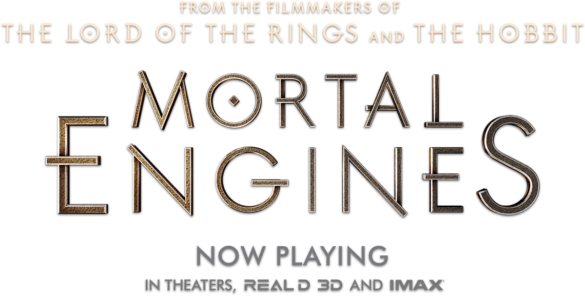 Title treatment for Mortal Engines