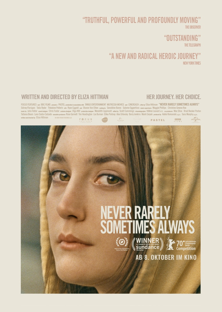Never Rarely Sometimes Always Filmplakat