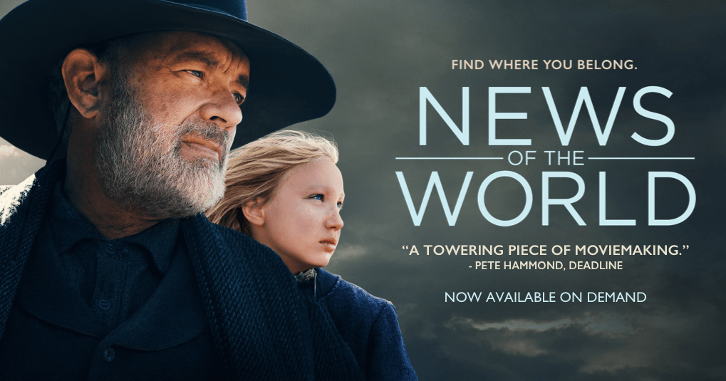 News of the World 2020 banner HDMoviesFair
