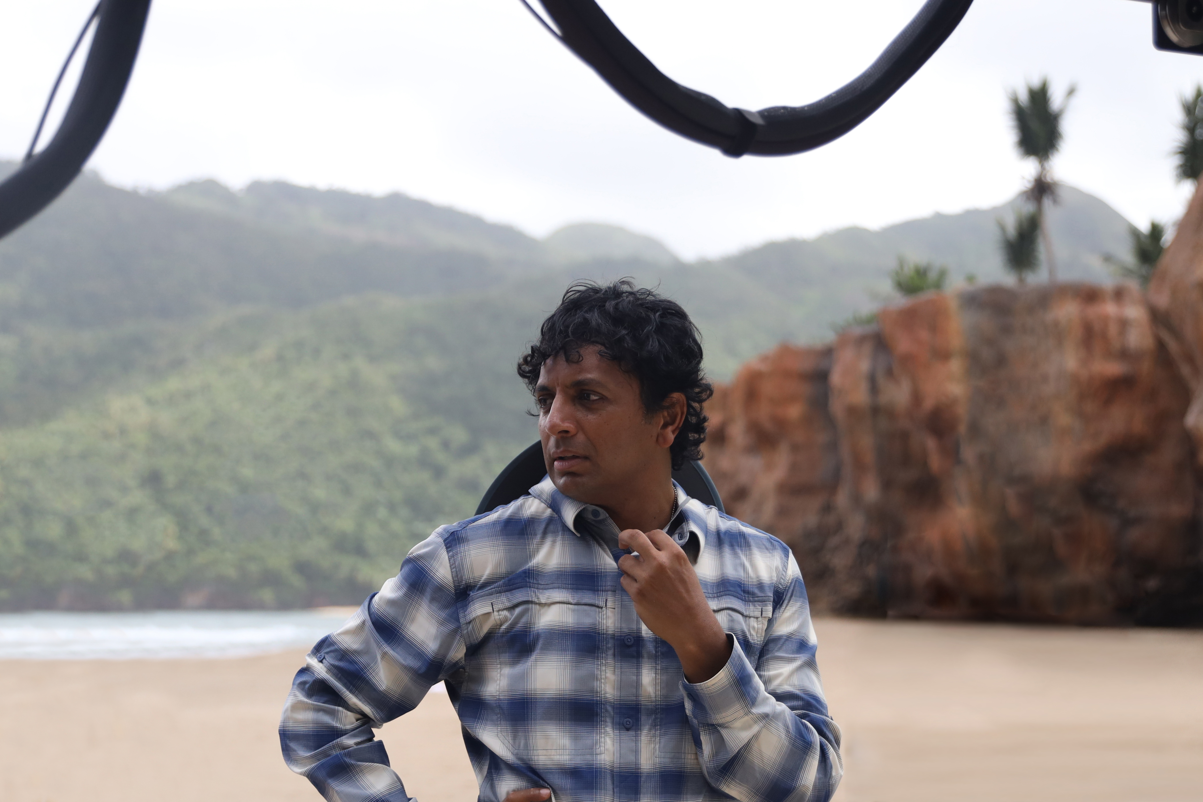 Writer/Director M. Night Shyamalan, Old (2021 movie)