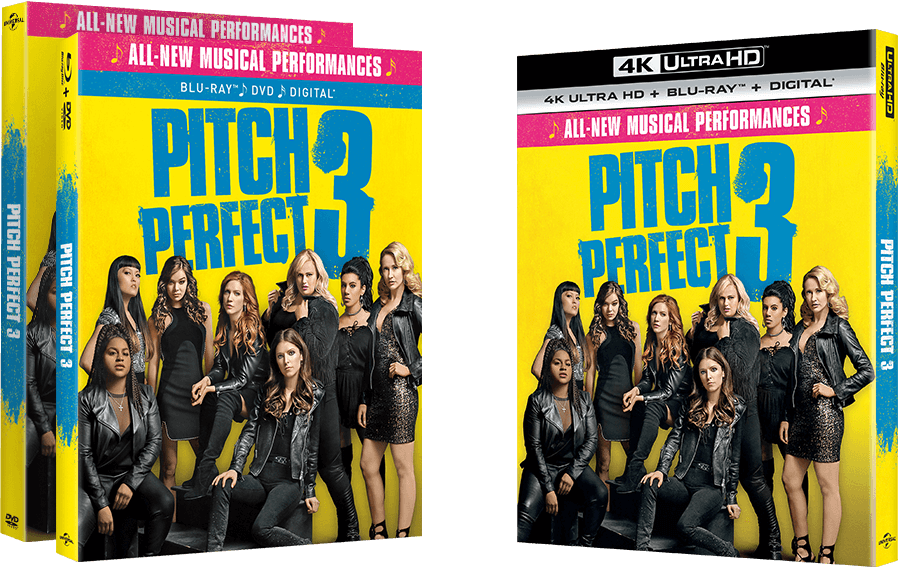 Pitch Perfect 3 - products