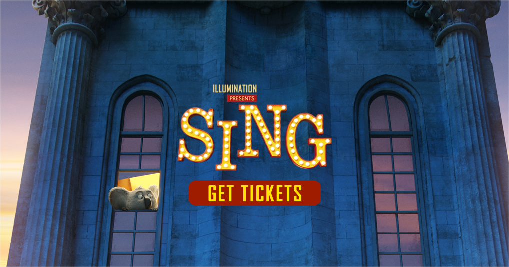 Sing: In Theaters November 06, 0016. Ticket Booking - The Official ...