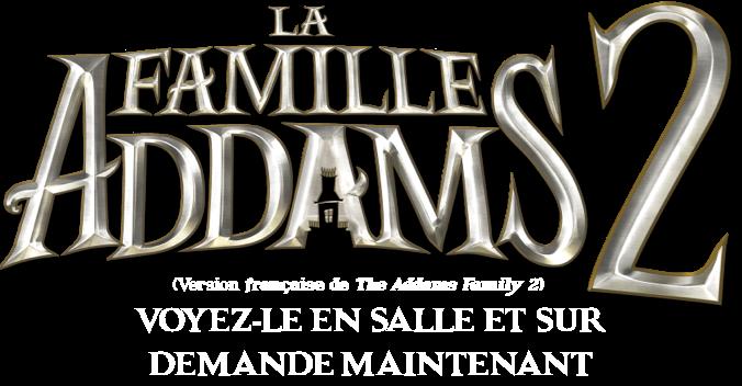 Titre ou logo pour La Famille Addams 2
