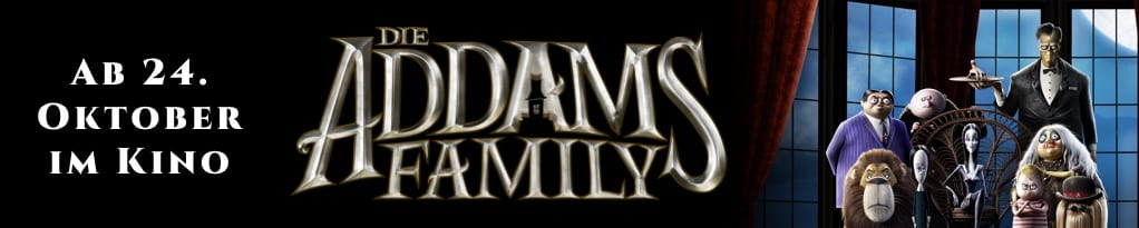 Die Addams Family Banner