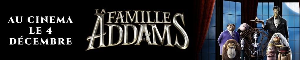 Bannière du film La Famille Addams