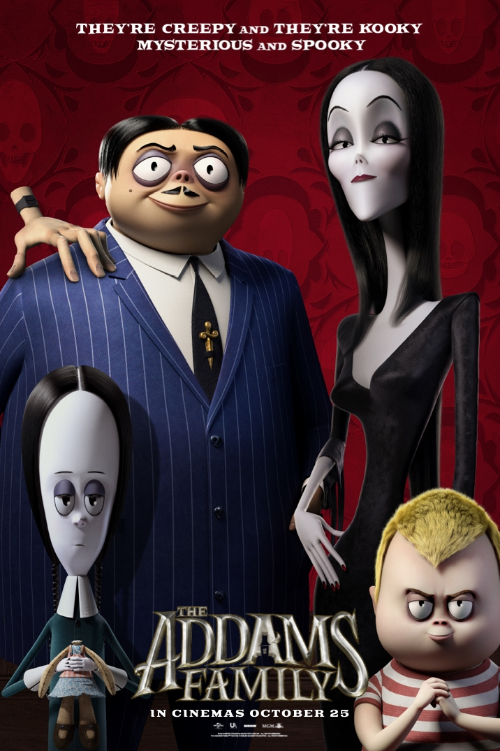 Poster image for The Addams Family