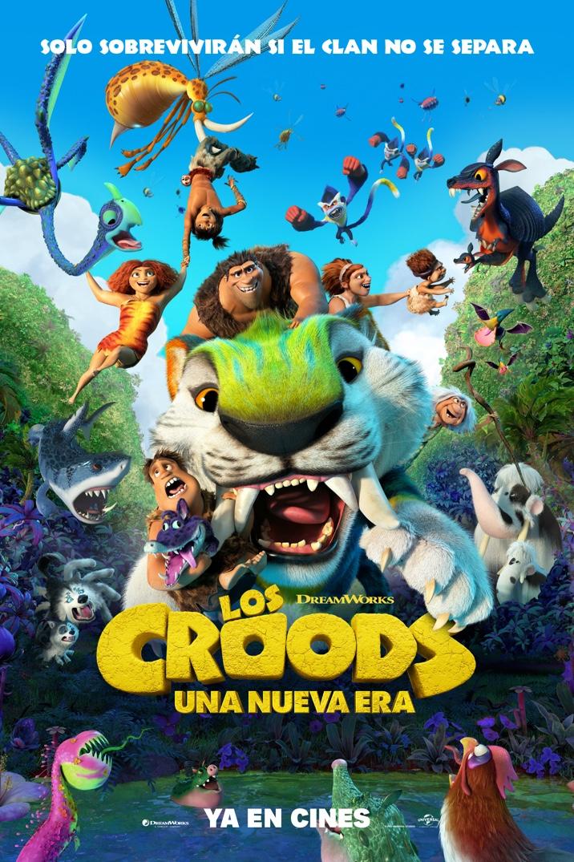 Poster de LOS CROODS UNA NUEVA ERA