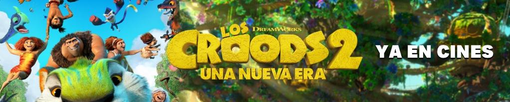 Banner de LOS CROODS UNA NUEVA ERA