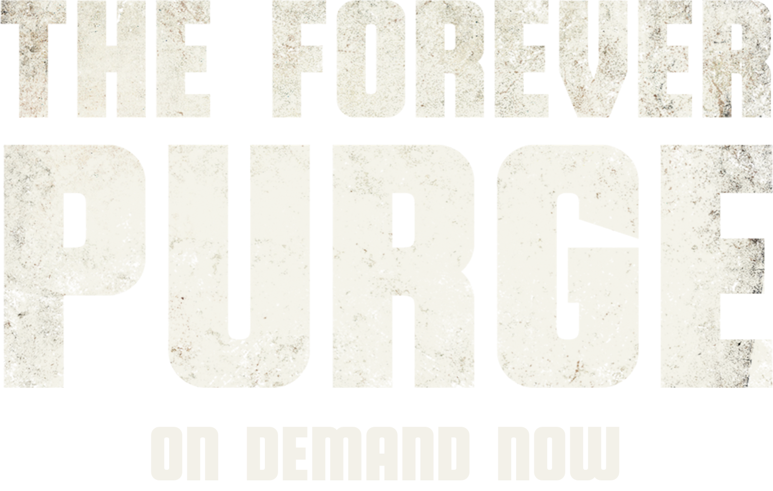 Title or logo for The Forever Purge