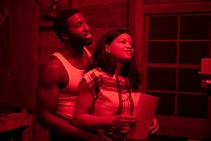 Chanté Adams and Y'lan Noel in The Photograph (2020 Movie)