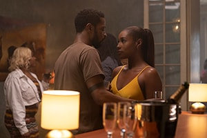 Issa Rae and Lakeith Stanfield in The Photograph (2020 Movie)