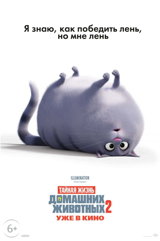 Poster for Тайная Жизнь Домашних Животных 2