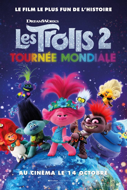 Affiche du film Les Trolls 2 Tournée Mondiale