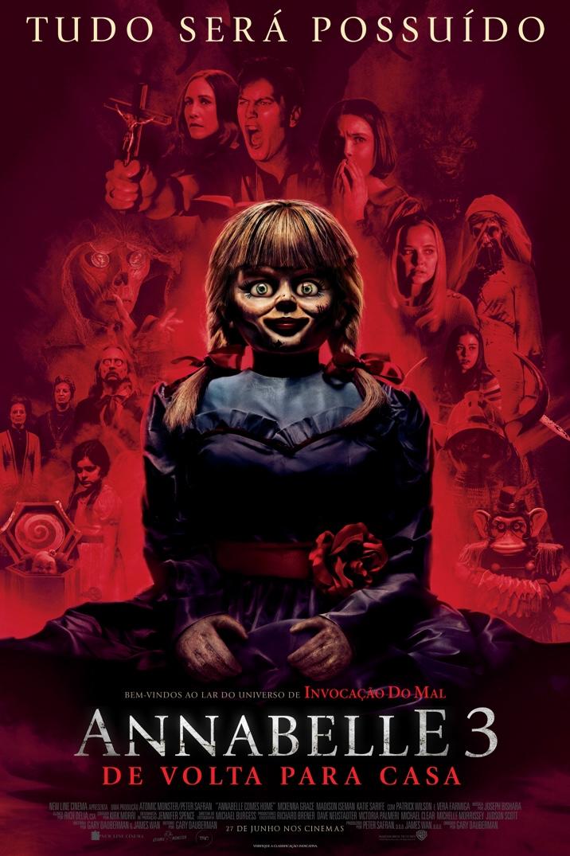 Poster for ANNABELLE 3: DE VOLTA PARA CASA