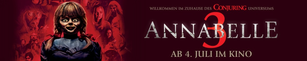 Poster for Annabelle 3