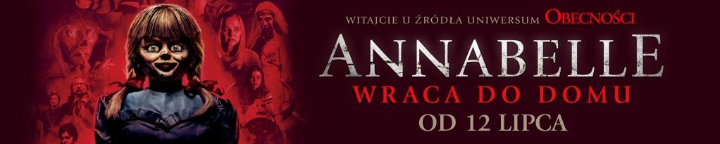 Poster for ANNABELLE WRACA DO DOMU