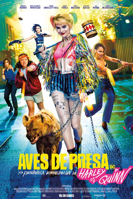 Poster de Aves de Presa y la fantástica emancipación de una Harley Quinn
