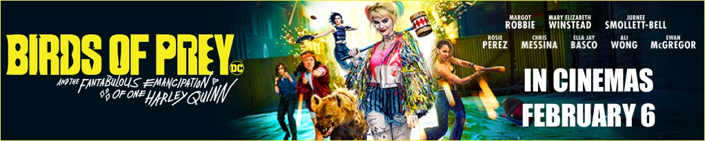 Poster image for Birds of Prey and the Fantabulous Emancipation of One Harley Quinn