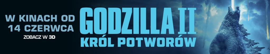 Poster for GODZILLA II: KRÓL POTWORÓW