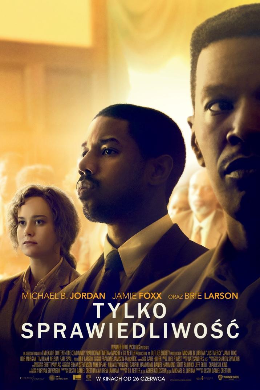 Plakat z filmu Tylko Sprawiedliwość