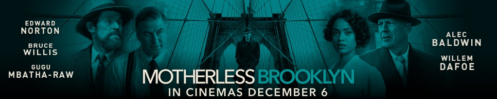 Poster image for Motherless Brooklyn