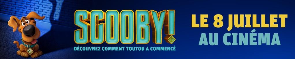 Bannière du film Scooby!