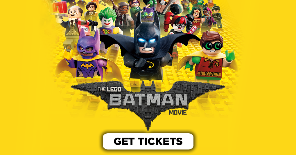 The Lego Batman Movie: Theater Showtimes & Ticket Purchasing - The Official Showtimes Destination